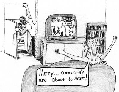 superbowl sunday commercials cartoon