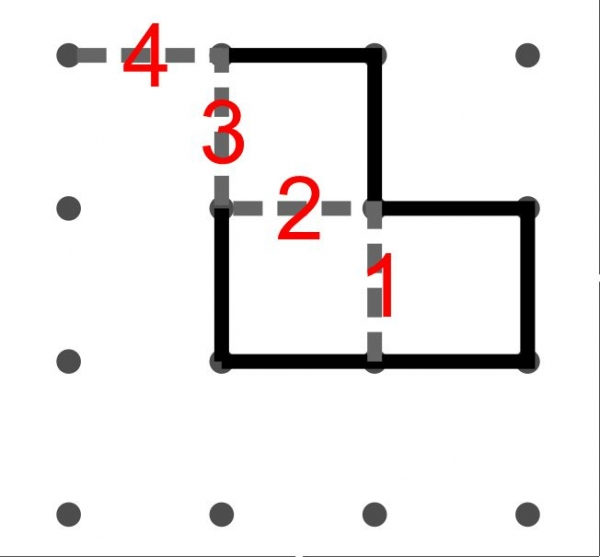 Dots multi-Move Example.