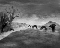 loch ness monster art