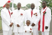 Chris and his groomsmen.
