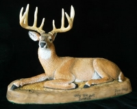 whitetail sculpture