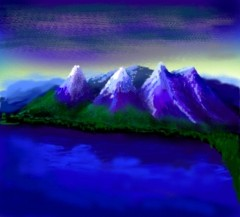 Mountains Pocket PC Art