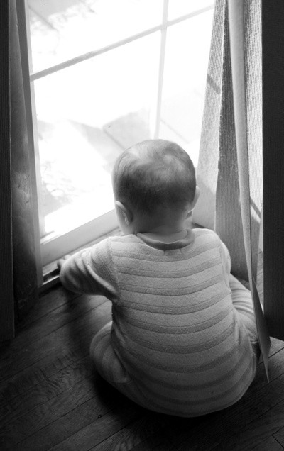 Baby in WIndow