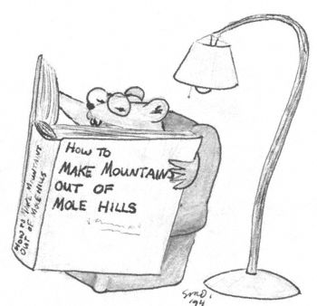Mole Cartoon