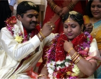 hindu groom and bride