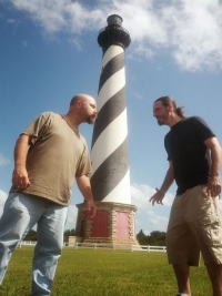 shawn, matt, lighthouse